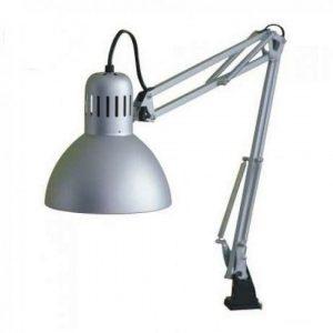 lampa pentru masa simpla silver lila rossa